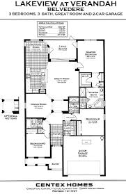 belvedere floor plan by brookfield homes home decor ideas