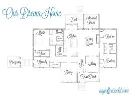 simple one story house plan two master wics big kitchen house