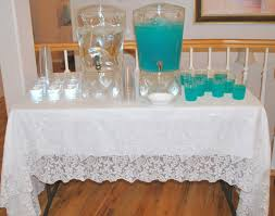 blue punch for baby shower home design