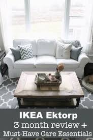 ikea slipcovered sofa reviews the truth about the white ikea ektorp sectional white sectional