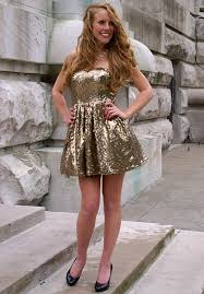 party all night dress gold u2013 sweetie styles