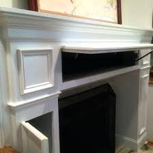 How To Finish A Fireplace - how to make a fireplace mantel surround fireplace modern stone