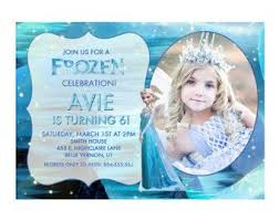 19 best frozen birthday invitations images on pinterest frozen
