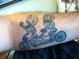 lovely dirt bike tattoos for men