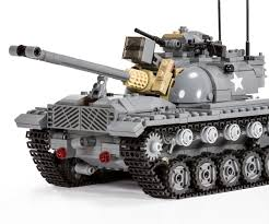 lego army tank new release m48 patton brickmania blog