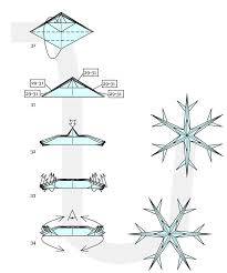 how to fold origami decorations ornate winter