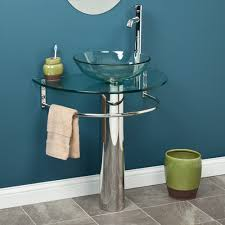 curved towel bar for pedestal sink clear glass u shaped pedestal sink with integral bowl and towel bar