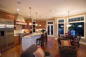Kitchen And Living Room Open Floor Plans Open Concept Kitchen Living Room Floor Plans U2014 Smith Design Open