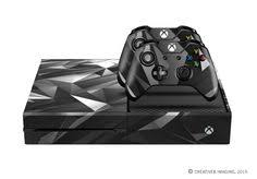 pattern of white clouds in streaks e skins xbox one gaming console skin blue light streak and white