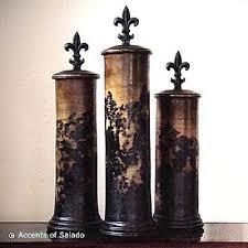 fleur de lis kitchen canisters rustic fleur de lis jars scouts jar mantle and room