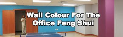 colour for the office feng shui