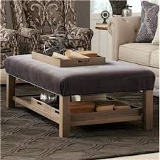 Ottomans With Trays Hickorycraft Accent Ottomans Storage Bench Ottoman With Tray
