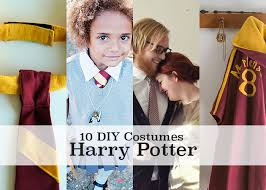 Homemade Nerd Halloween Costumes 10 Amazing Diy Harry Potter Costume Tutorials Inspire Diy
