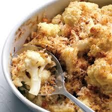 food in thanksgiving cauliflower gratin