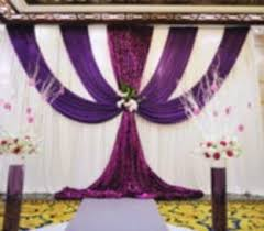 wedding backdrop online pipe and drape online coupon free shipping white purple