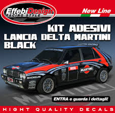 martini racing ducati kit adesivi martini racing lancia delta hf integrale evoluzione gr