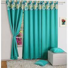 Turquoise Blackout Curtains Fabulous Turquoise Blackout Curtains And Swayam Turquoise Garden