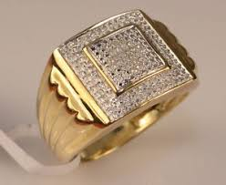 gold male rings images Men 39 s diamond and yellow gold ring pinky rings male rings men jpg