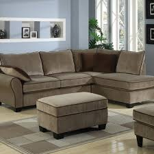impressive two piece sectional sofa with furniture of america evan