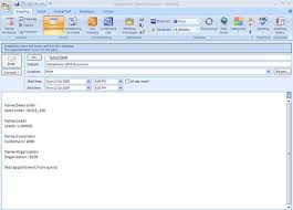 erp crm and ecommerce blog creating outlook appointment and