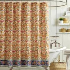 Orange Shower Curtains Buy Orange Curtains From Bed Bath Beyond