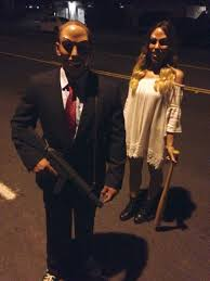 deguisement de couple halloween couple u0027s halloween costume the purge quién anda ahí