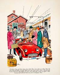 cartoon car back antique u0026 vintage art tagged