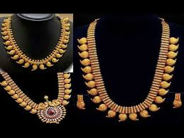 lightweight kerala jewellery designs