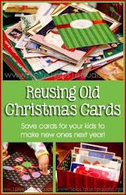 reusing christmas cards 1 1 1 u003d1