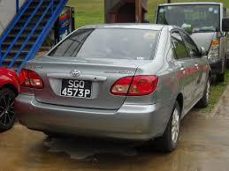 new toyota cars singapore toyota corolla altis 2007 car rental