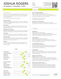 Resume Doc Download Cool Inspiration Ux Designer Resume 1 Ux Designer Resume Example