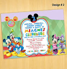 mickey mouse invitation template free download joy clubhouse