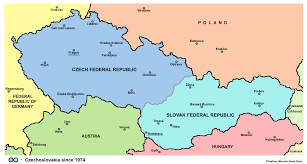 Map Of Munich Germany by Image Map Of The Czech And Slovak Republics Within Csfr Munich
