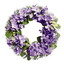 hydrangea wreath summer hydrangea wreath christmas tree shops andthat