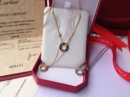 gold diamond love necklace images Cartier love necklace white gold pink gold yellow gold for sale jpg