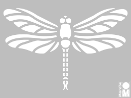 printable dragonfly stencils large dragonfly stencil patterns patterns kid