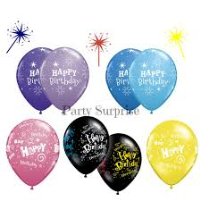 balloons for men happy birthday balloons 11 purple lilac black blue