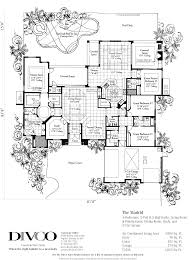 luxury custom home floor plans decoration ideas divco floor plan the madrid divco custom home