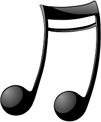clipart double note two