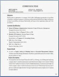 Mba Resume Templates Mba Resume Mba Resume Format Mba Resume Sample 2016 With Regard