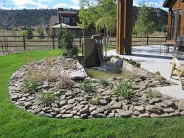 25 river rock garden ideas for beautiful diy designs sustainable