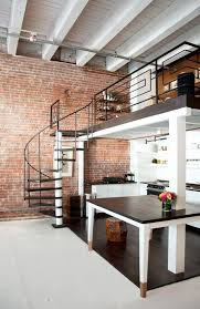 mezzanine study over kitchen love the industrial pipework u0026 way