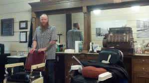a shave haircut and refuge from the rain at wilson u0027s barbershop