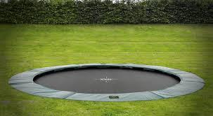 in ground trampoline cost round designs
