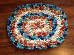 Cool Round Rugs by Cool Pom Pom Rug Pattern