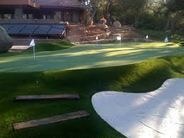 lovely backyard putting greens architecture nice