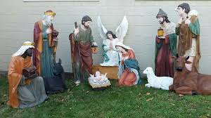 outdoor nativity set large outdoor nativity sets for churches outside creche large