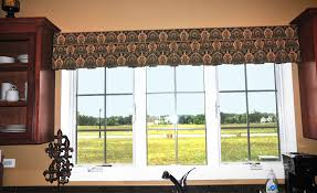 shorewood kitchen valance window treatments plainfield interior