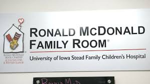 Ronald McDonald Family Room Gives Comfort To Families At UI Stead - Ronald mcdonald family room
