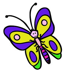 drawn butterfly cartoon pencil color drawn butterfly cartoon